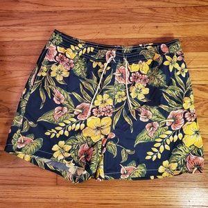 Vtg Polo Ralph Lauren floral board shorts size XXL